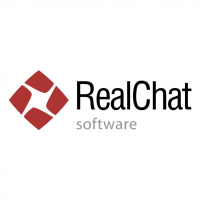 RealChat Software vector