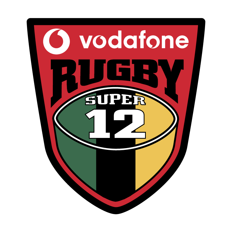 Rugby Super 12 vector