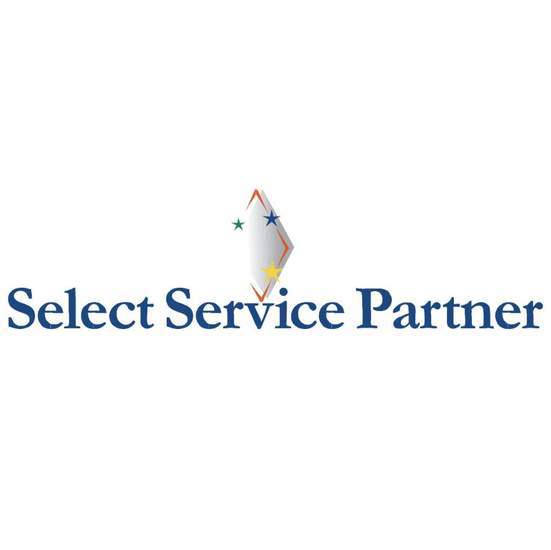 Select Service Partner vector