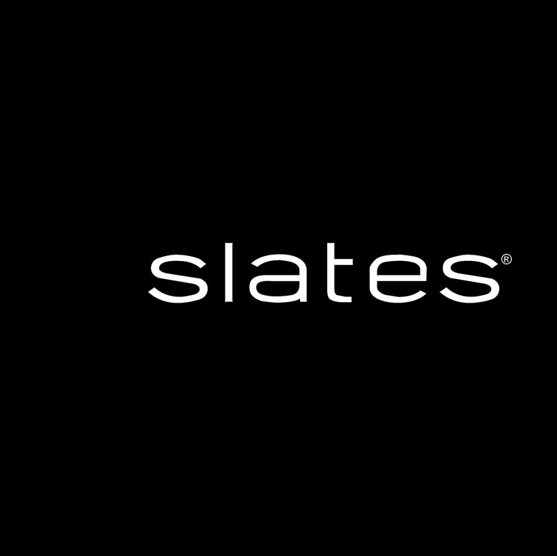 Slates vector logo