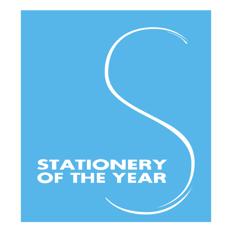 Stationery of the Year vector