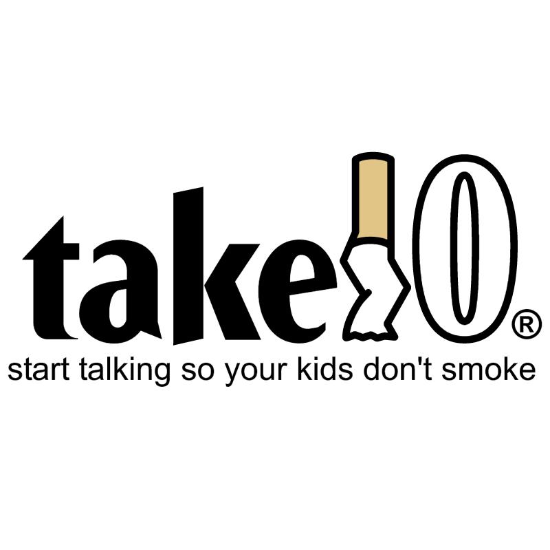 Take 10 vector logo