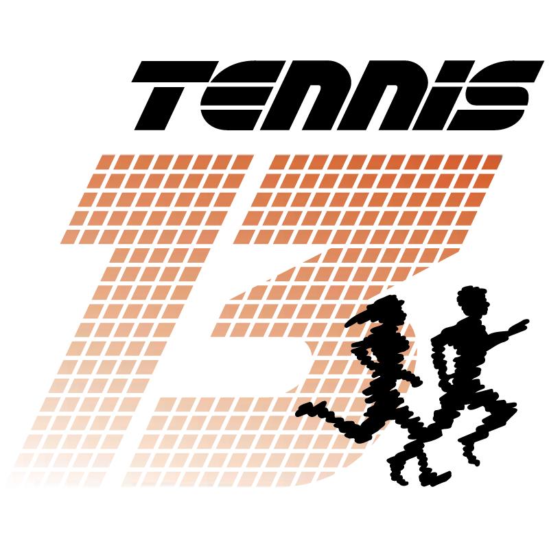 Tennis13 vector