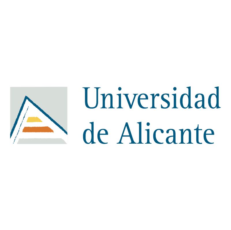 Universidad de Alicante vector