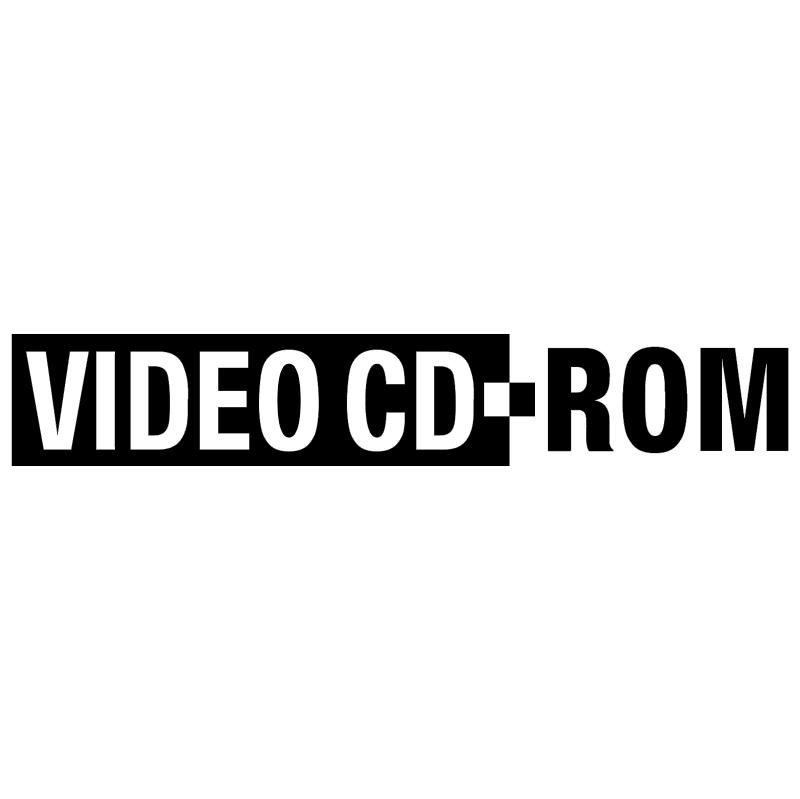 Video CD ROM vector