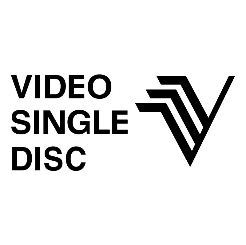 Video Single Disc vector logo