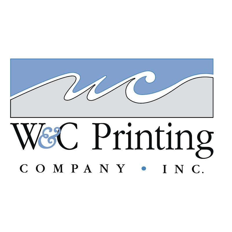 W&C Printing Company vector