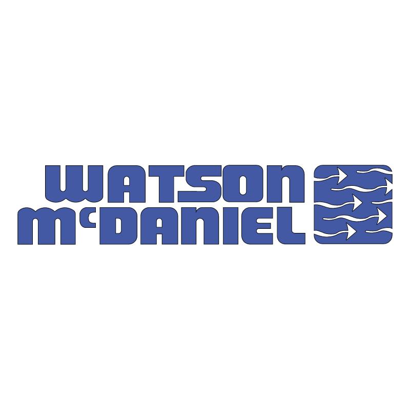 Watson McDaniel vector