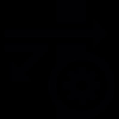 Firewall settings vector logo