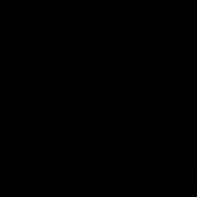 Dialogue bubble vector logo