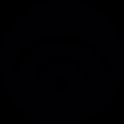 Wifi Button vector logo