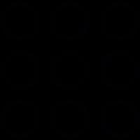 Menu Circles vector