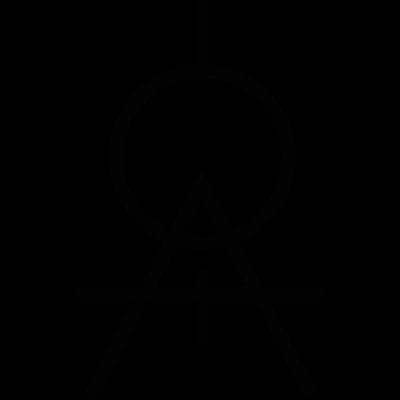 Compass symbol vector logo