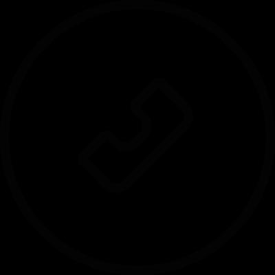 Call button vector logo