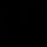 Thin Clock vector