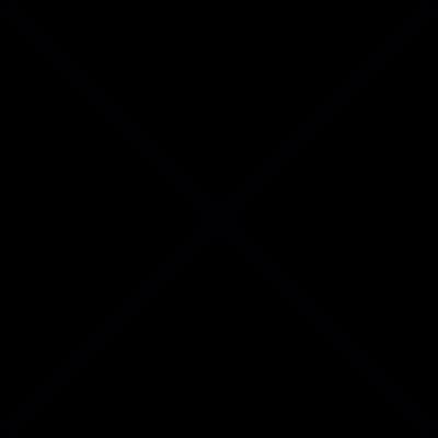 Cross out mark vector logo