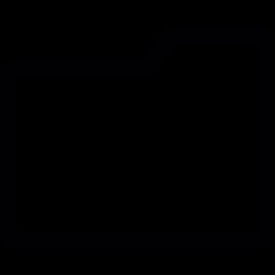 Single folder vector logo