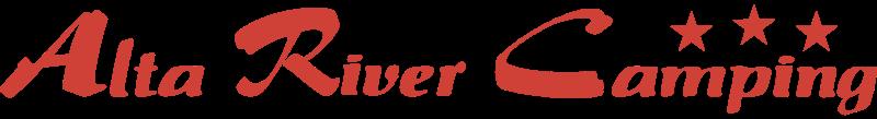 ALTA RIVER CAMPING vector