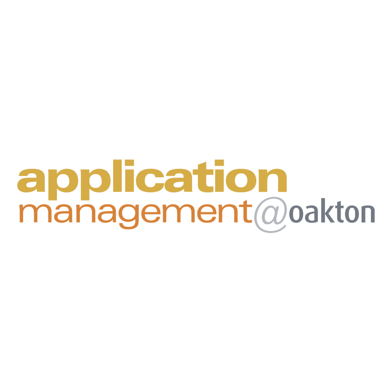 Application Management@oakton 71220 vector
