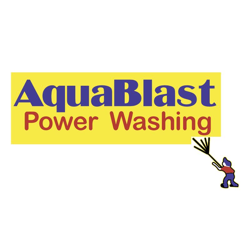 Aquablast Power Washing 55073 vector