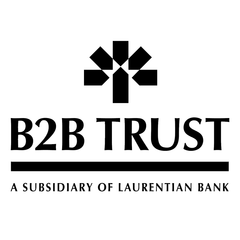 B2B Trust vector