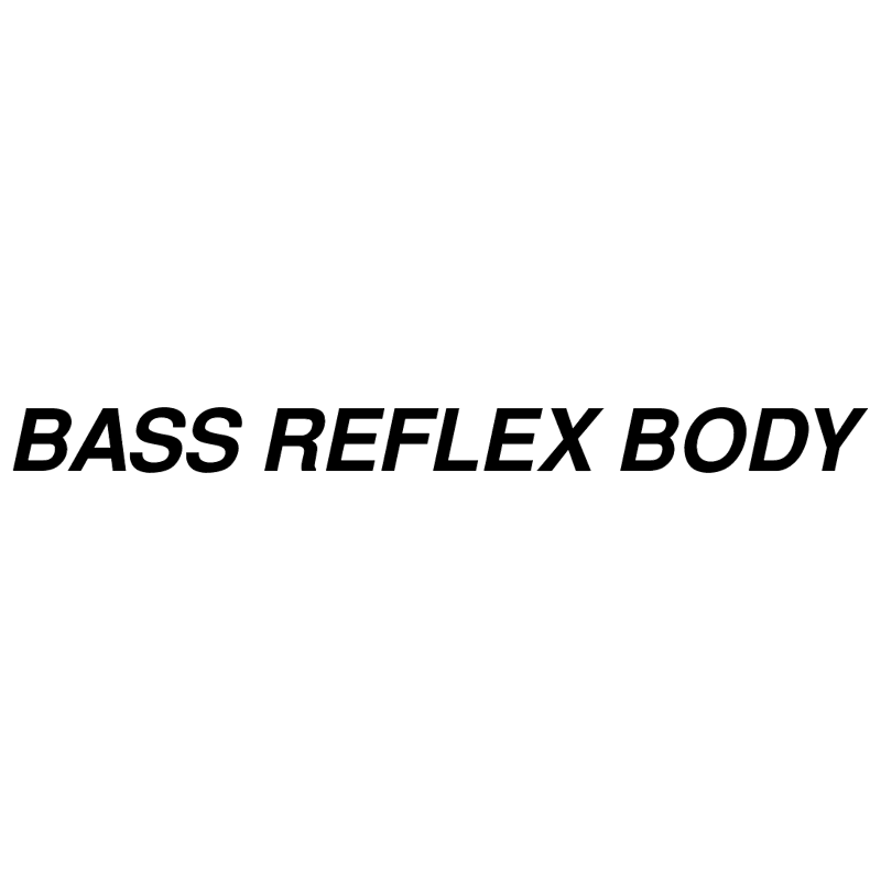 Bass Reflex Body 11707 vector