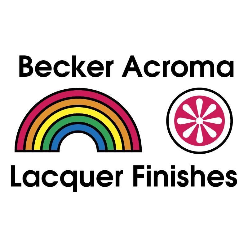 Becker Acroma 81967 vector