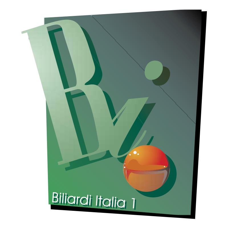 Biliard Italia vector
