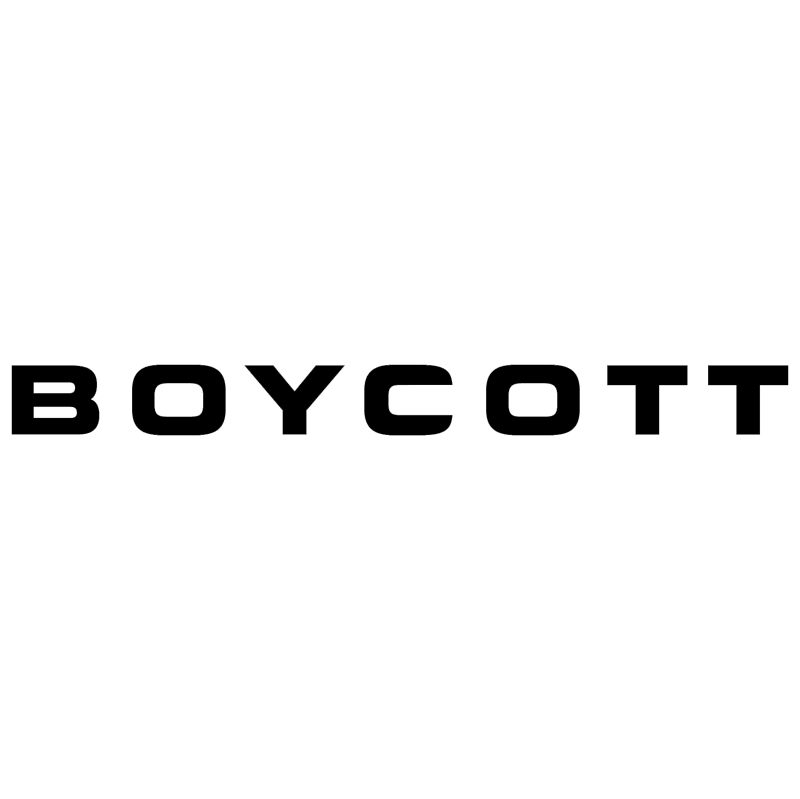 Boycott 25032 vector