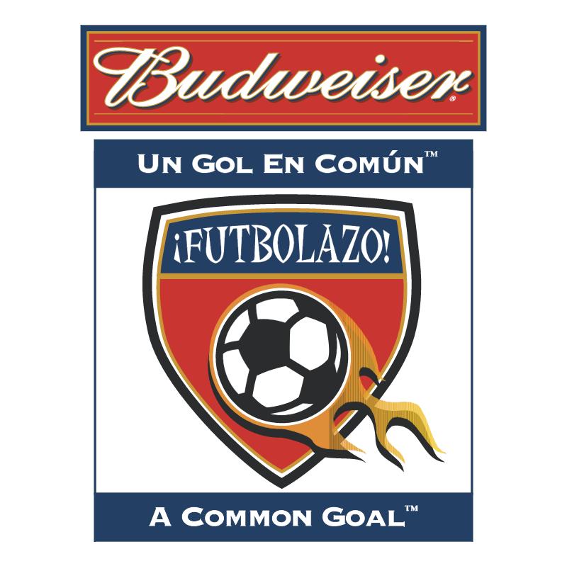 Budweiser Futbolazo vector