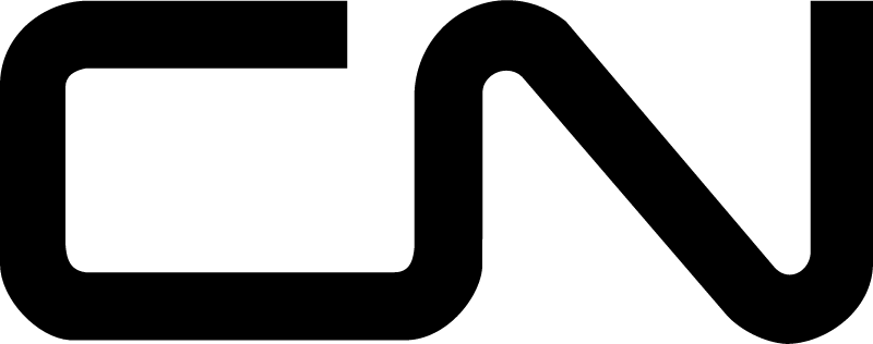 Canadien National logo vector