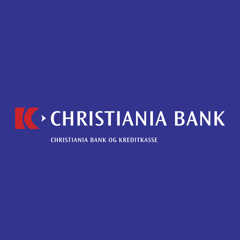 Christiania Bank vector