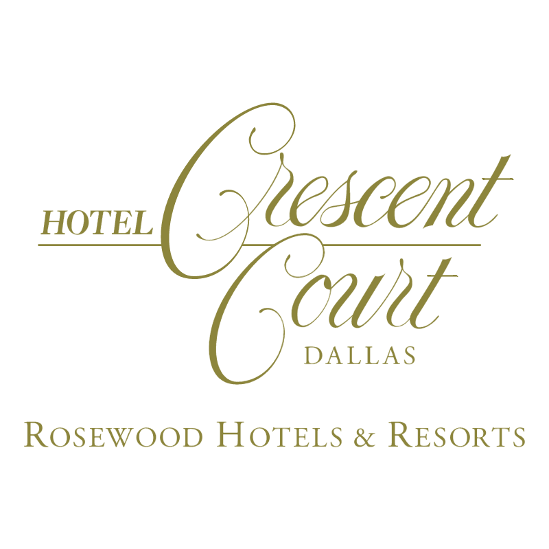 Crecent Court Hotel vector