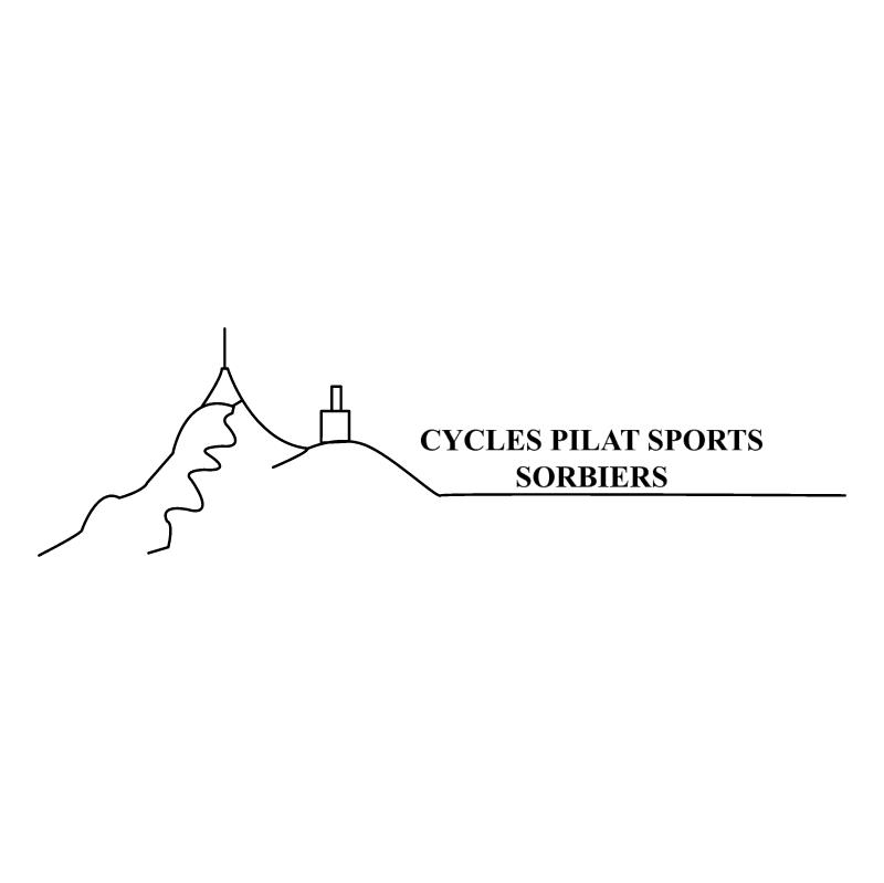 Cycle Pilat Sport Sorbiers vector logo
