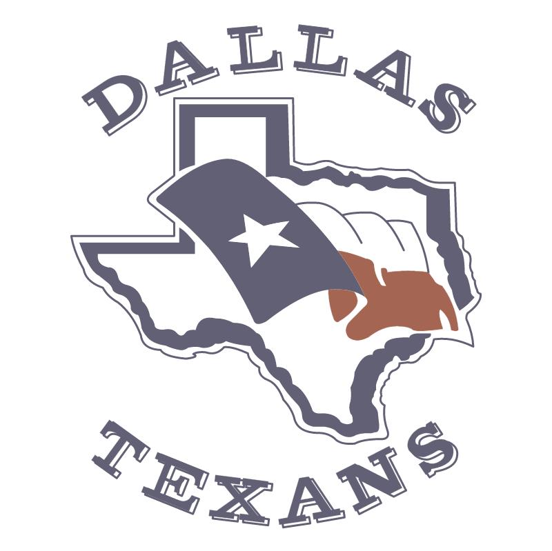 Dallas Texans vector logo