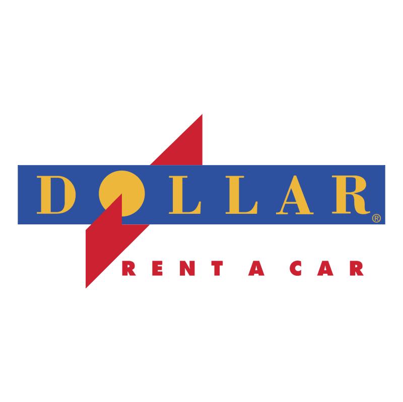 Dollar Rent A Car vector