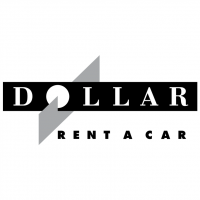 Dollar Rent A Car vector
