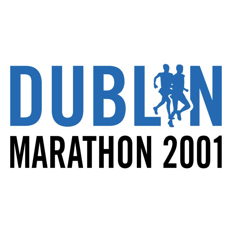 Dublin Marathon 2001 vector