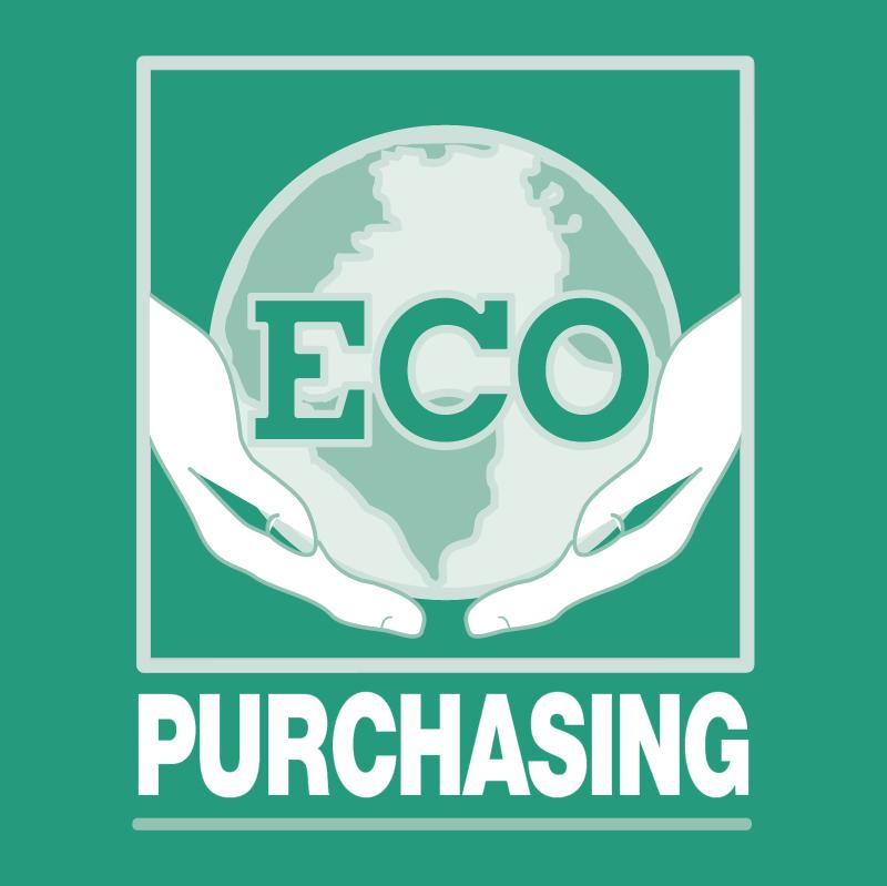 ECO Purchasing vector