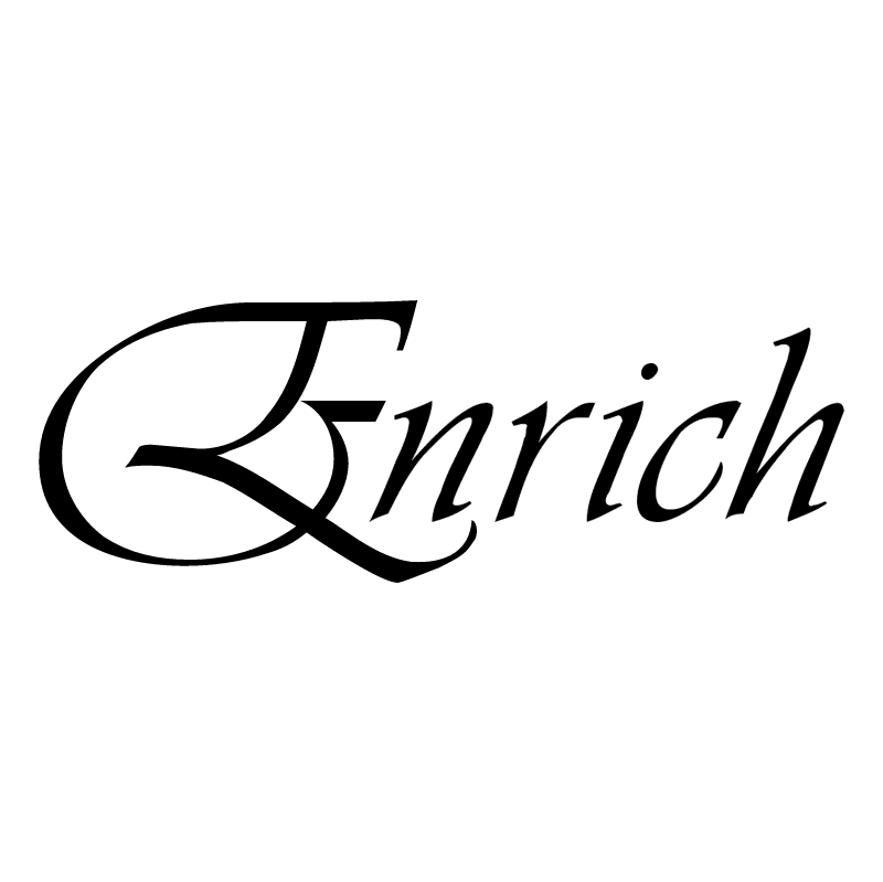 Enrich vector logo