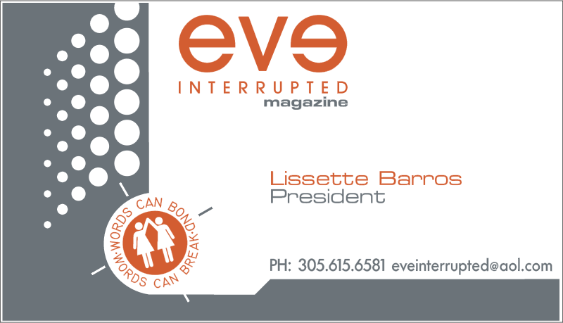 Eve Interrupted Magazine vector