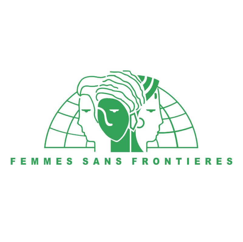 Femme Sans Frontieres vector