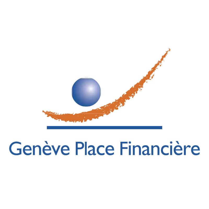 Geneve Place Financiere vector