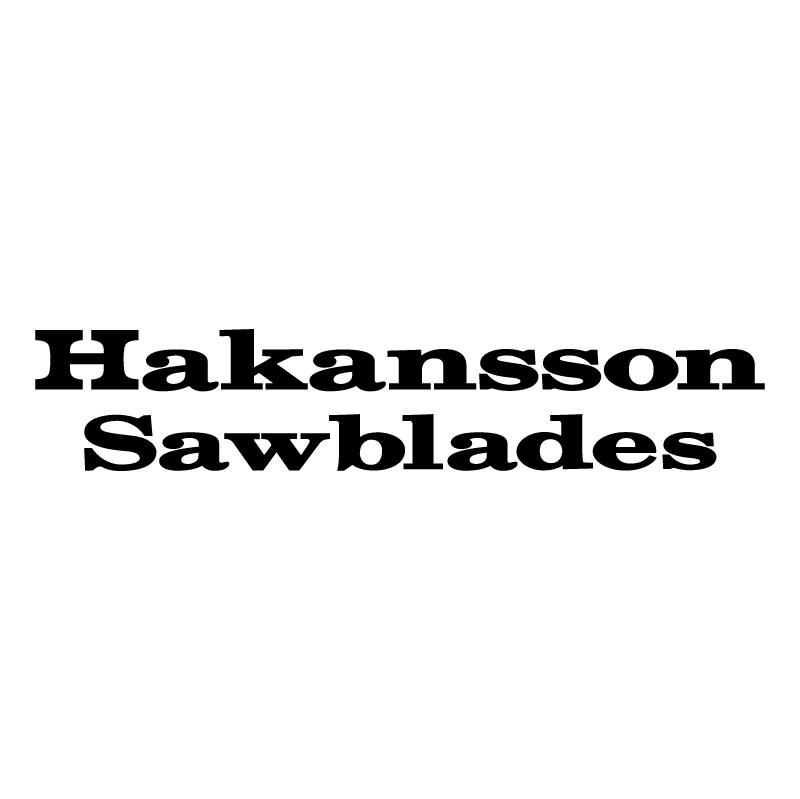 Hakansson Sawblades vector logo