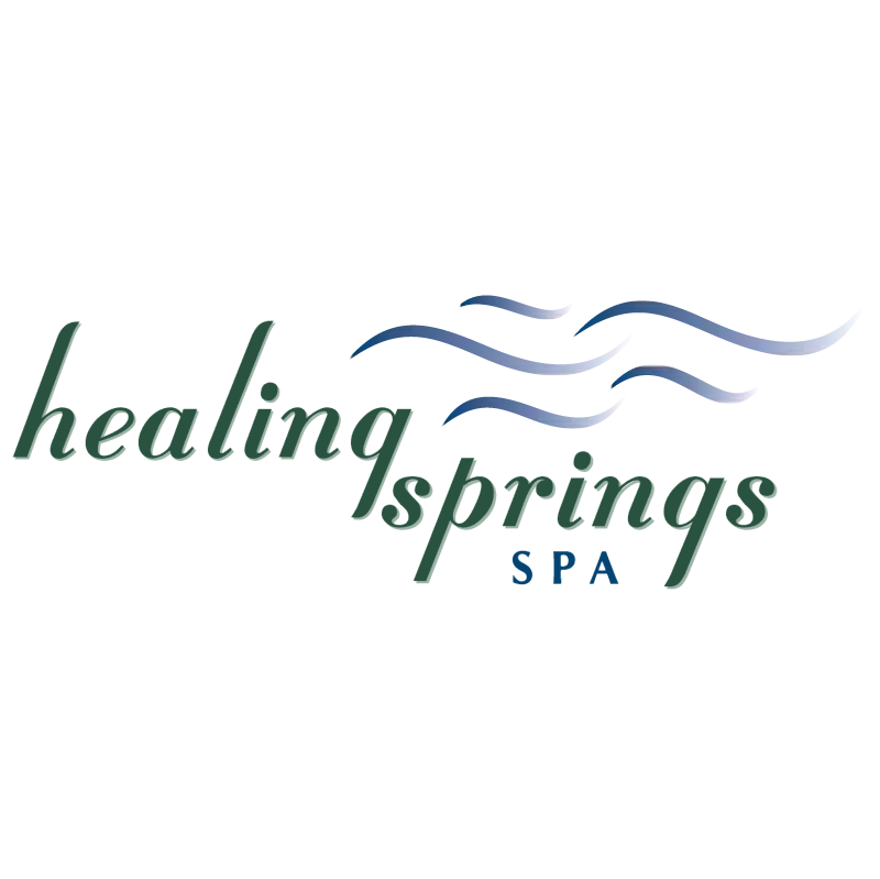 Healing Springs Spa vector
