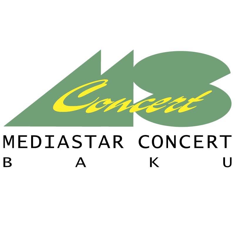 Media Star Concert Baku vector logo