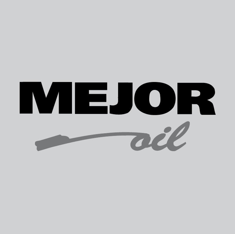 Mejor Oil vector logo