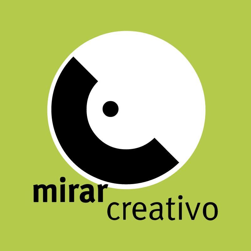 Mirar Creativo vector