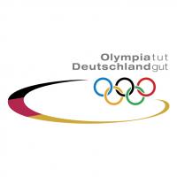 Olympia tut Deutschland gut vector