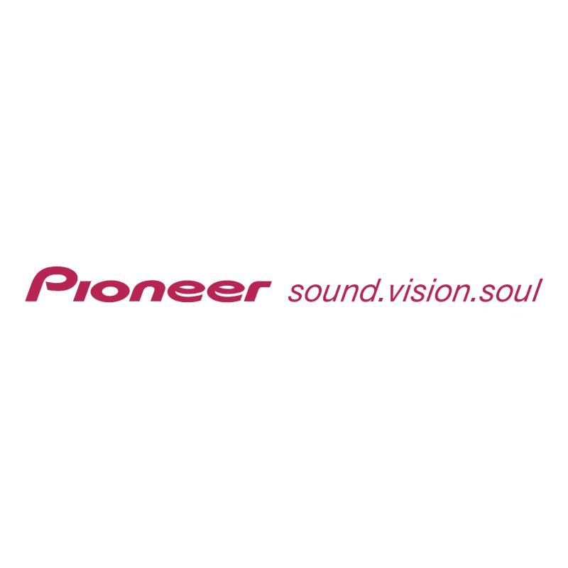 Pioneer vector logo